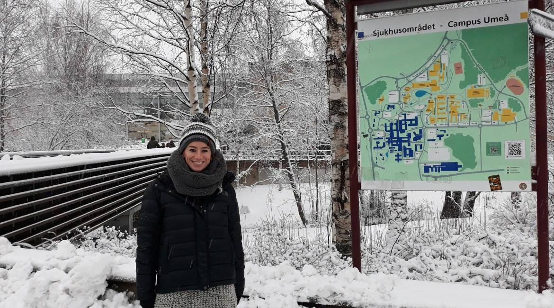 Helena de Sola continúa su formación en la Universidad de Suecia