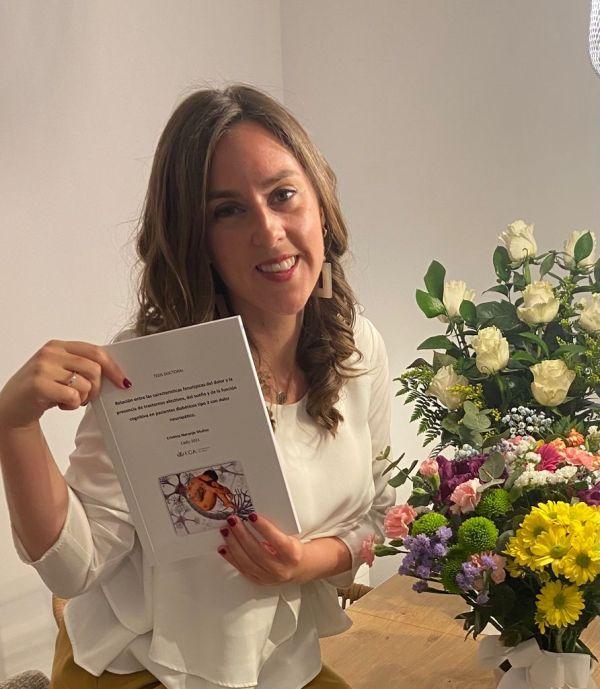 Distinction Cum Laude for our colleague Cristina Naranjo Muñoz